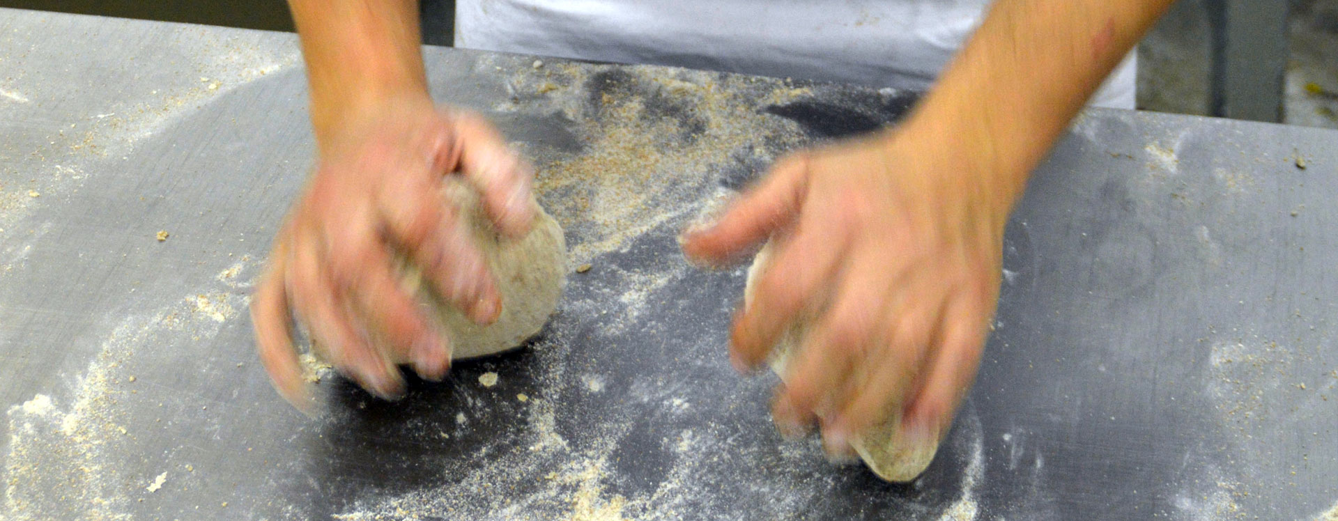 Bread kneading